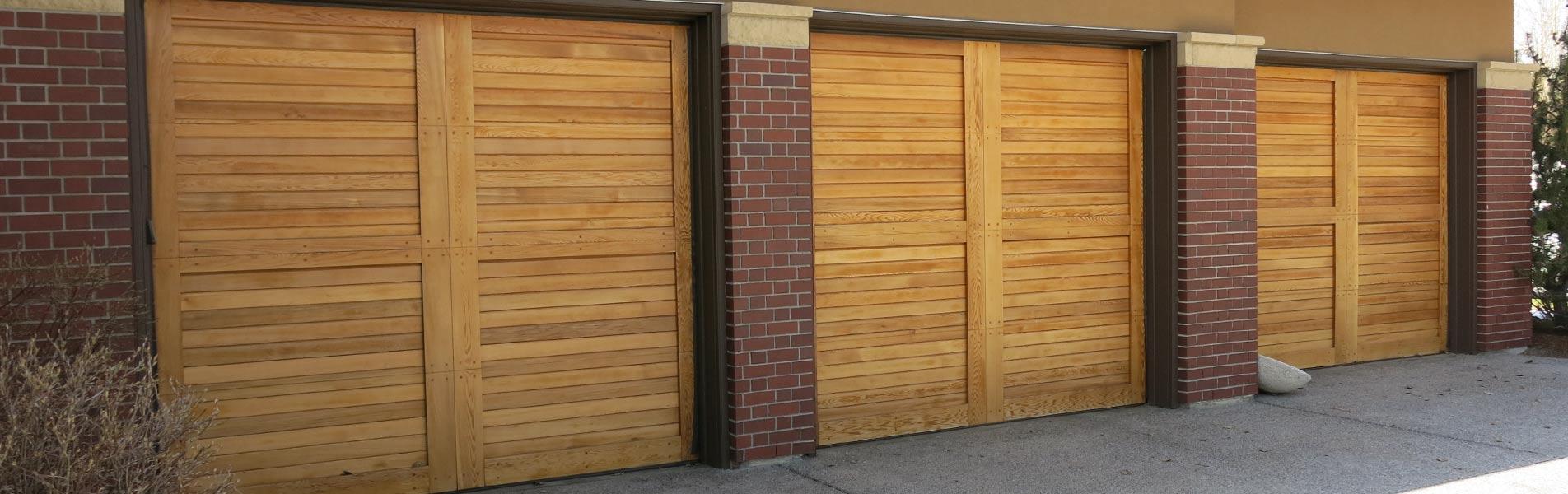 Equal Industries Carriage Style Custom Wood Doors